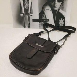 Tarnish Genuine Leather Chain Crossbody Bag